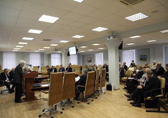 Заседание судостроителей